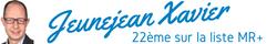 Xavier Jeunejean - 20ème sur la liste MR+